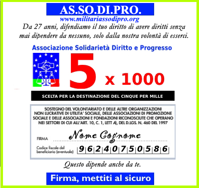 5 X 1000 ad ASSODIPRO