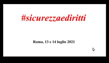 Stati Generali Sindacati Militari Roma 13 e 14 luglio 2021